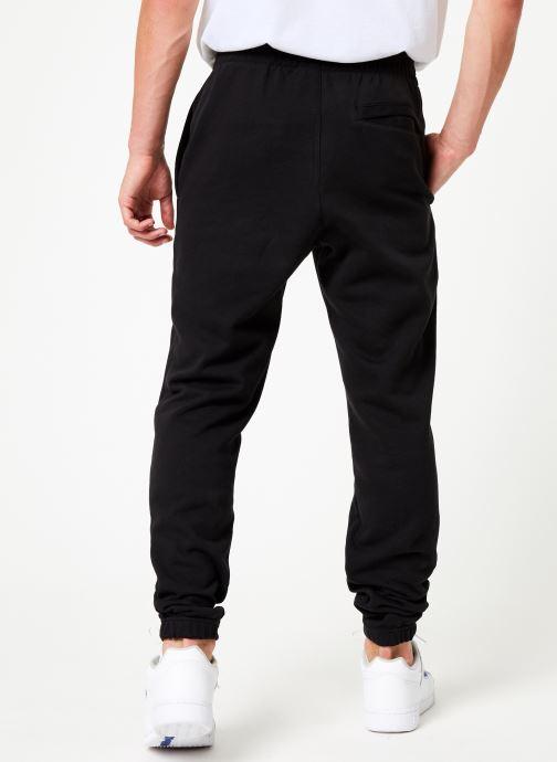 Vêtements Reebok Cl Ft Jogger Noir vue portées chaussures