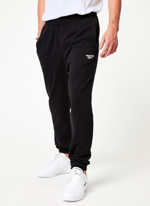 Vêtements Reebok Cl Ft Jogger Noir vue détail/paire