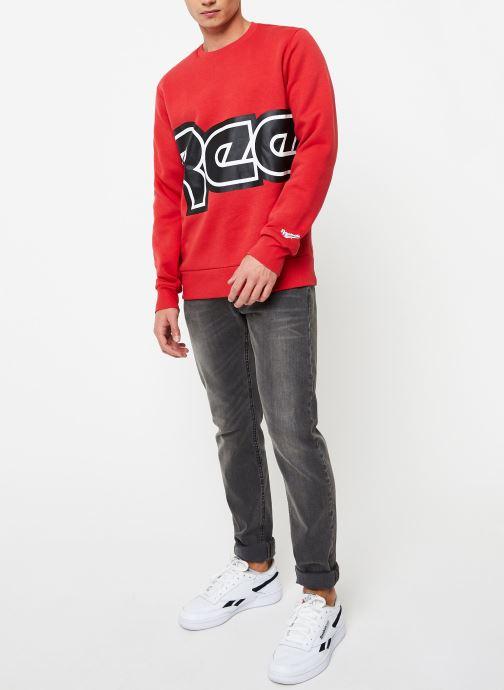 Vêtements Reebok Cl Itl Red Button C Rouge vue bas / vue portée sac