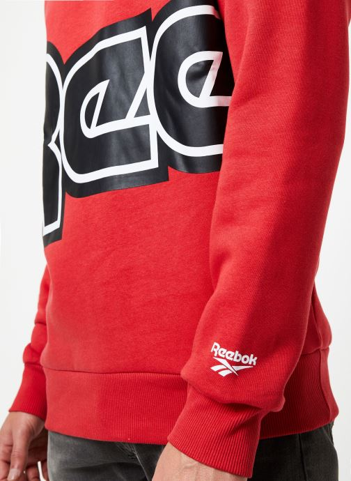 Vêtements Reebok Cl Itl Red Button C Rouge vue face