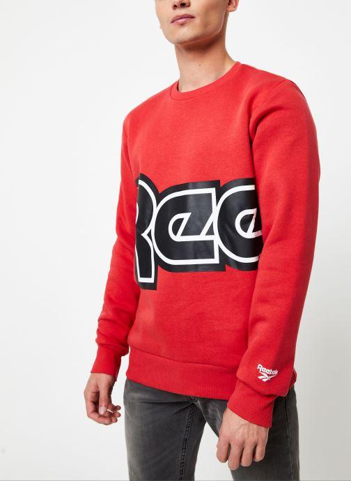 Vêtements Reebok Cl Itl Red Button C Rouge vue droite