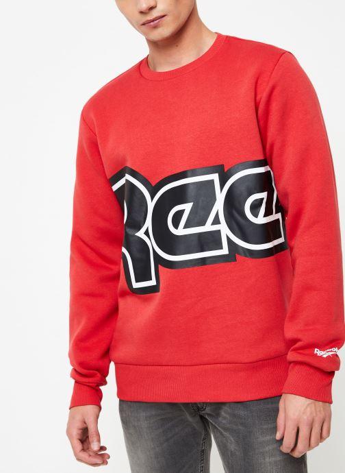 Vêtements Reebok Cl Itl Red Button C Rouge vue détail/paire