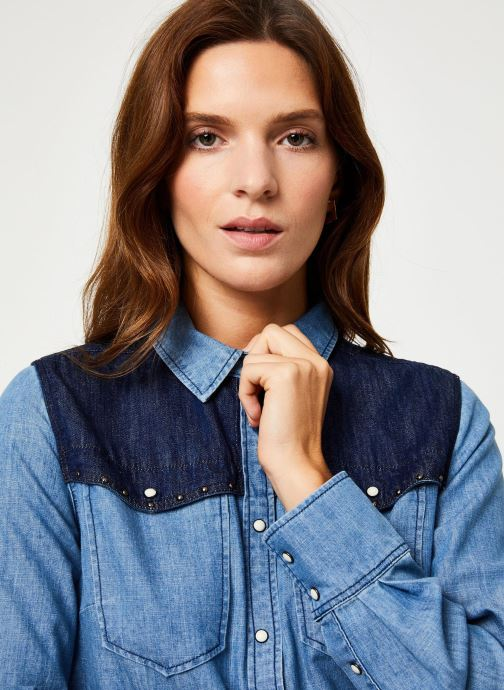 Vêtements MKT Studio COLLEEN Bleu vue face