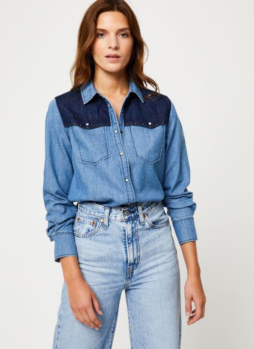 Vêtements MKT Studio COLLEEN Bleu vue détail/paire