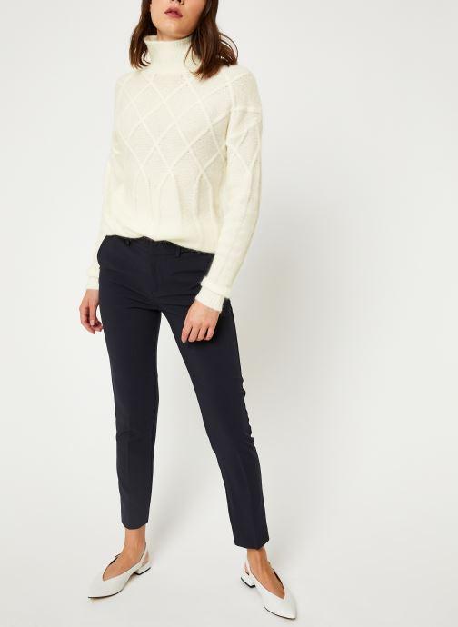 Vêtements MKT Studio KOUHAI Blanc vue bas / vue portée sac