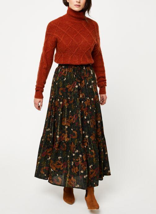 Vêtements MKT Studio KOUHAI Marron vue bas / vue portée sac