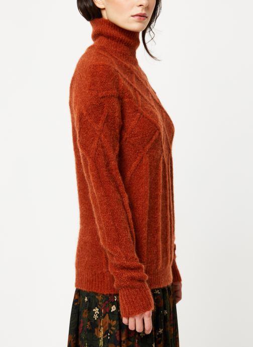 Vêtements MKT Studio KOUHAI Marron vue droite