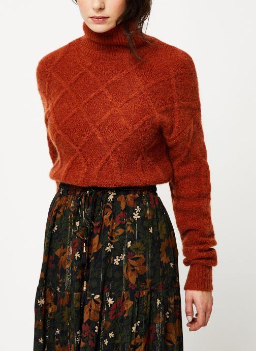 Vêtements MKT Studio KOUHAI Marron vue détail/paire