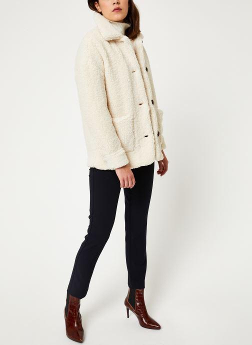 Vêtements MKT Studio METY Blanc vue bas / vue portée sac