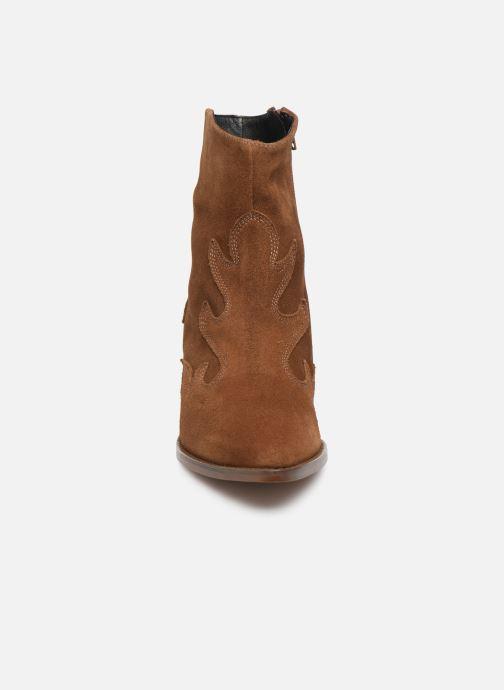 Ankelstøvler MKT Studio NICO SUEDE Brun se skoene på