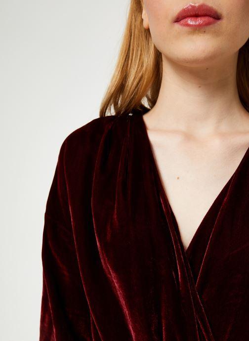 Vêtements MKT Studio OLINA Bordeaux vue face