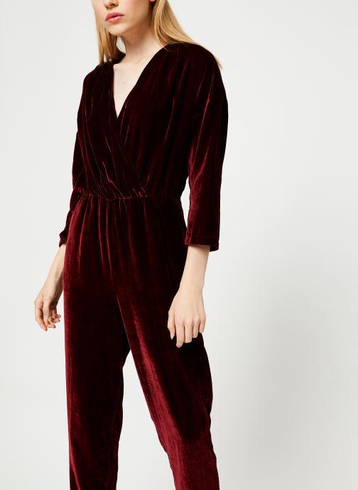 Vêtements MKT Studio OLINA Bordeaux vue détail/paire