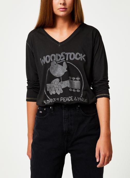 Vêtements MKT Studio TRESOR WOODSTOCK Noir vue droite