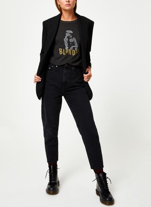 Vêtements MKT Studio TYLER BLONDIE Noir vue bas / vue portée sac