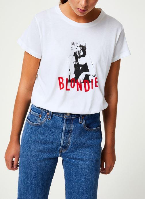 Vêtements MKT Studio TYLER BLONDIE Blanc vue droite