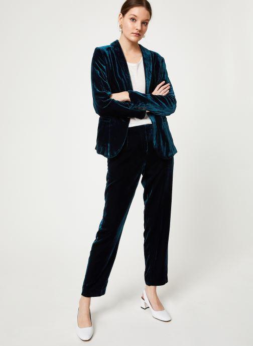 Vêtements MKT Studio VUECO Bleu vue bas / vue portée sac