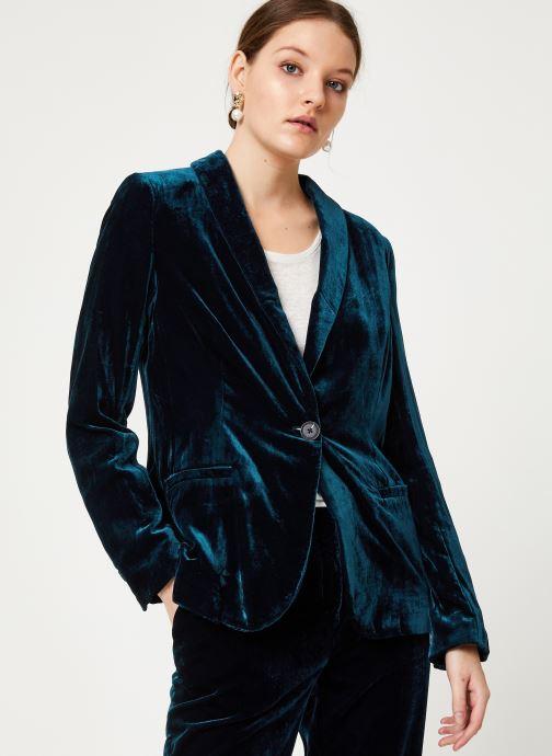 Vêtements MKT Studio VUECO Bleu vue droite