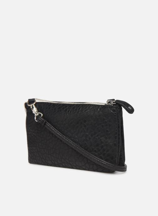 Sacs pochettes Pieces DAGNA CROSS OVER BAG CONTRAST ZIP Noir vue droite