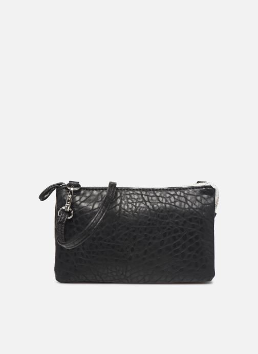 Clutch bags Pieces DAGNA CROSS OVER BAG CONTRAST ZIP Black detailed view/ Pair view