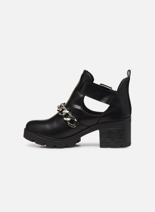 Ankle boots Pieces DELARA BOOT Black front view