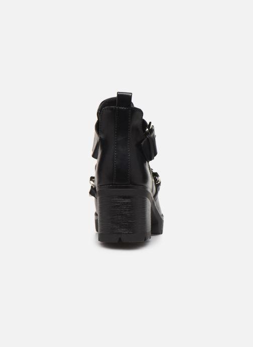 Boots en enkellaarsjes Pieces DELARA BOOT Zwart rechts