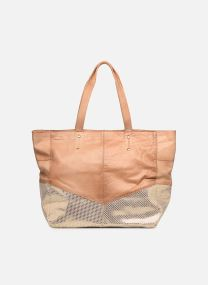 BRITTANY LEATHER SHOPPER