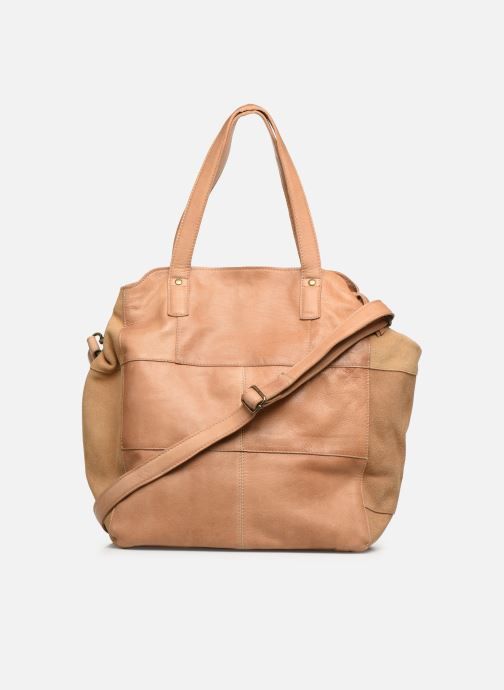 Handbags Pieces BETH LEATHER SHOPPER Blue front view