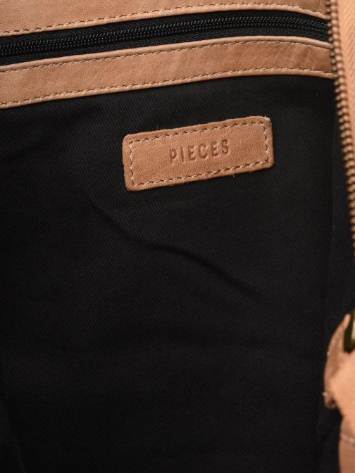 Handbags Pieces BETH LEATHER SHOPPER Blue back view