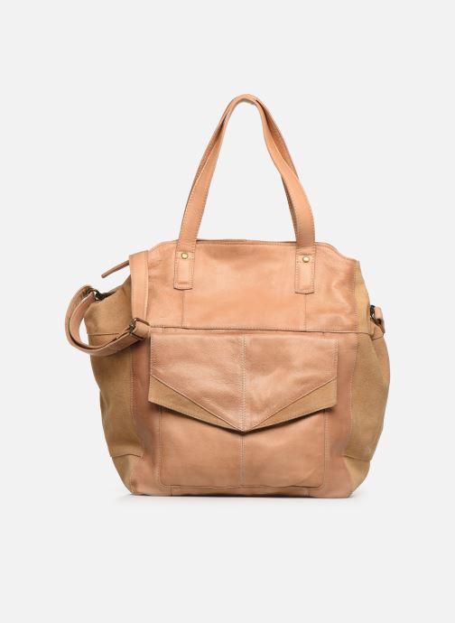 Handtaschen Pieces BETH LEATHER SHOPPER blau detaillierte ansicht/modell