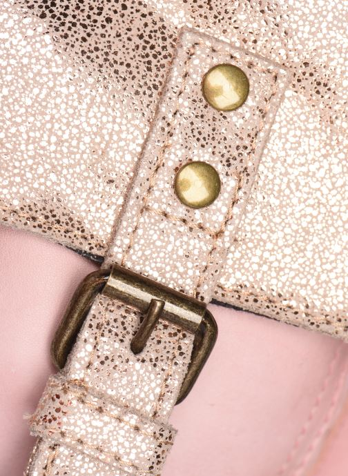 Handtassen Pieces BROOKE LEATHER CROSS BODY FOIL Roze achterkant