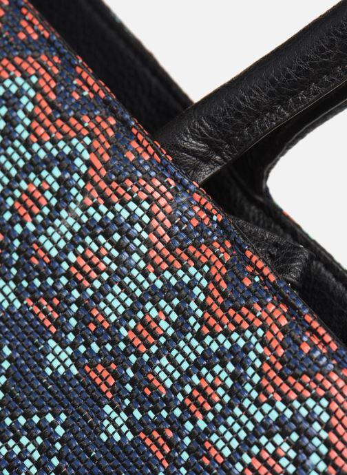 Handväskor Pieces BRENDA SHOPPER Grön bild från baksidan