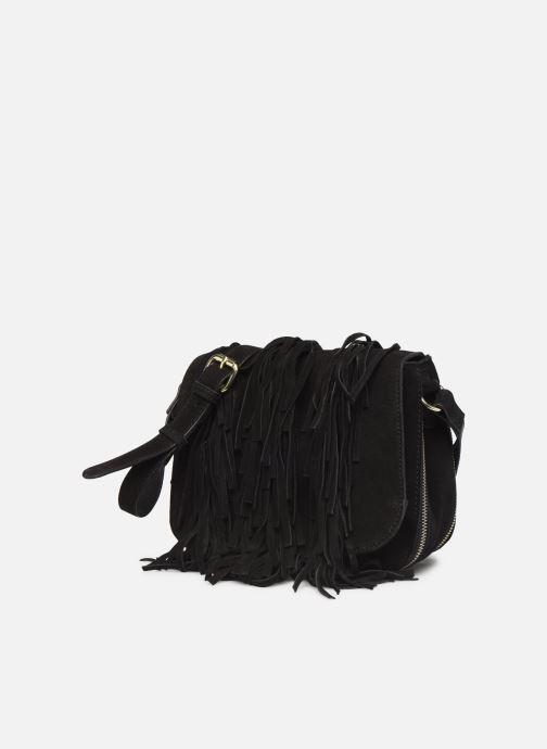 Handtassen Pieces BILEANA SUEDE CROSS BODY Zwart model