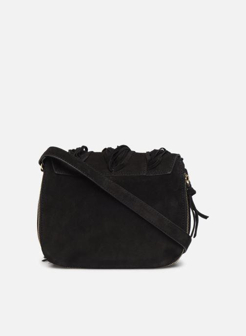 Handtassen Pieces BILEANA SUEDE CROSS BODY Zwart voorkant