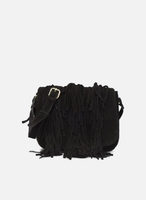 Handtassen Pieces BILEANA SUEDE CROSS BODY Zwart detail