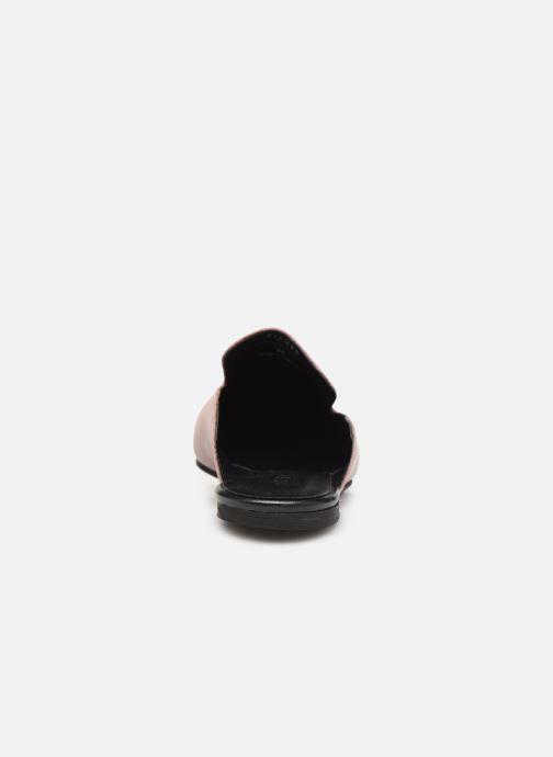 Clogs & Pantoletten Pieces CINTIA LEATHER MULE rosa ansicht von rechts