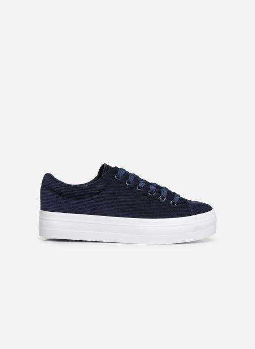 Trainers Pieces CARMA CORDEROY SNEAKER Blue back view