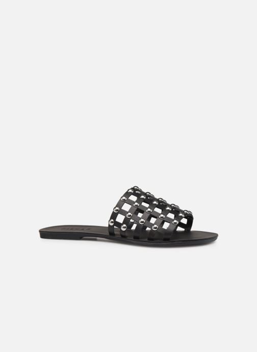 Mules & clogs Pieces CANDRA LEATHER SANDAL Black back view