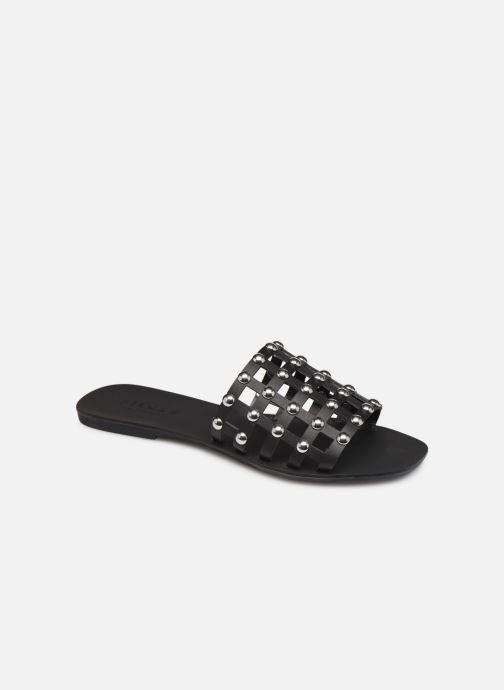 Clogs & Pantoletten Pieces CANDRA LEATHER SANDAL schwarz detaillierte ansicht/modell
