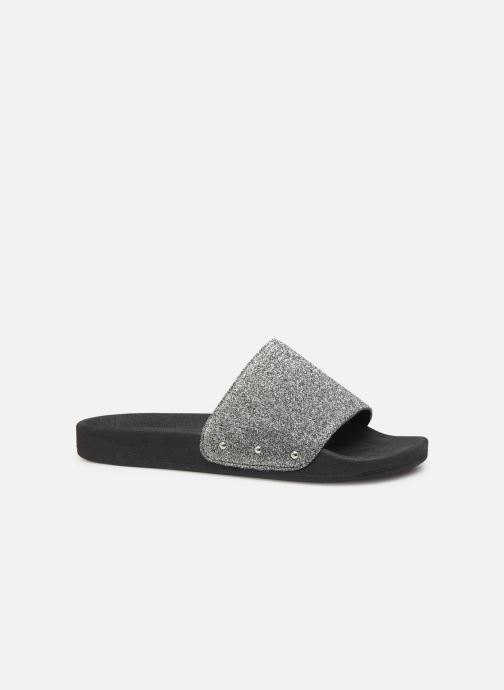 Mules & clogs Pieces CHICA SLIPPER Silver back view