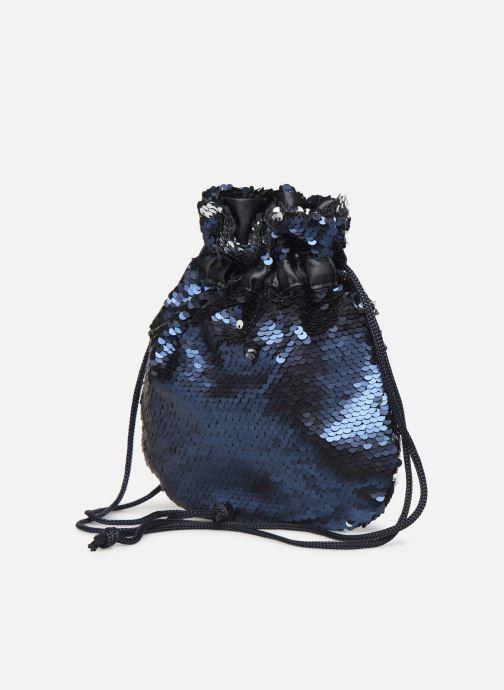 Handtaschen Pieces SIMO SEQUIN BAG blau schuhe getragen