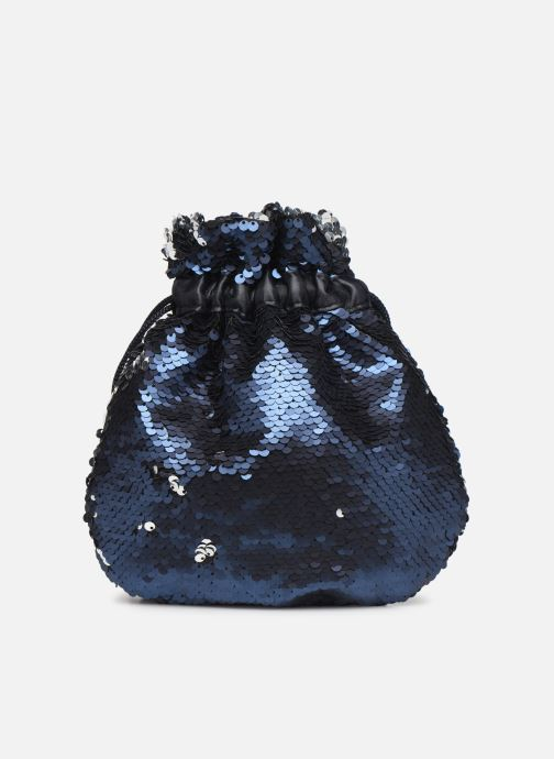 Handtaschen Pieces SIMO SEQUIN BAG blau ansicht von vorne