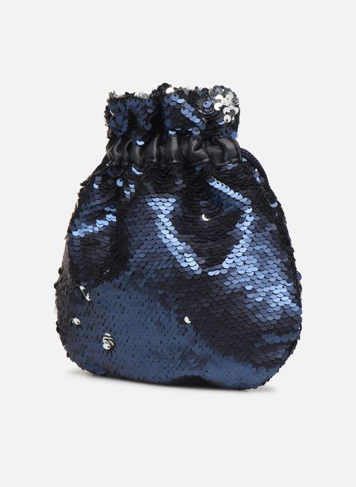 Handtaschen Pieces SIMO SEQUIN BAG blau ansicht von rechts