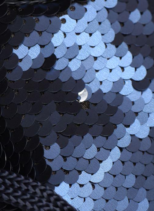 Handtaschen Pieces SIMO SEQUIN BAG blau ansicht von links