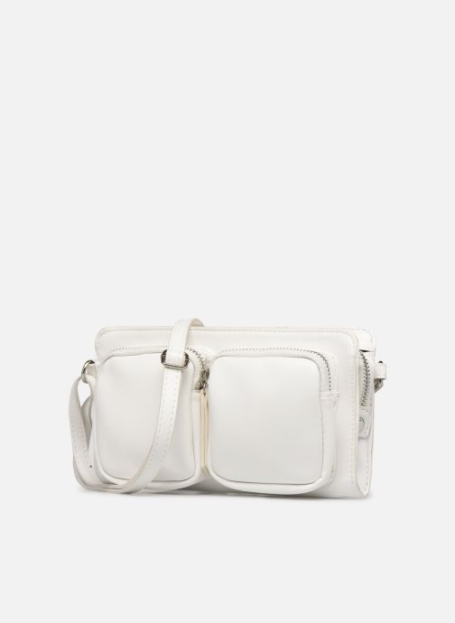 Bolsos de mano Pieces PERNILLE CROSS BODY Blanco vista del modelo