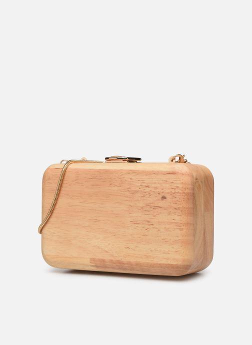 Mini Bags Pieces PYLLE CROSS BODY beige schuhe getragen