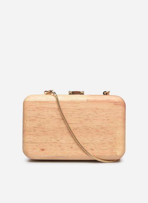 Mini Bags Pieces PYLLE CROSS BODY beige ansicht von vorne