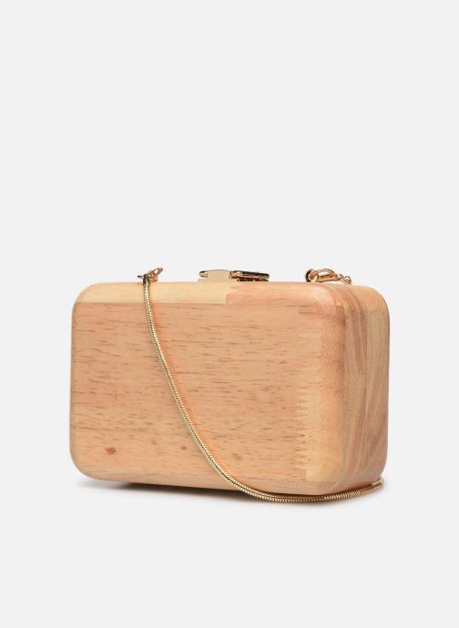 Mini Bags Pieces PYLLE CROSS BODY beige ansicht von rechts