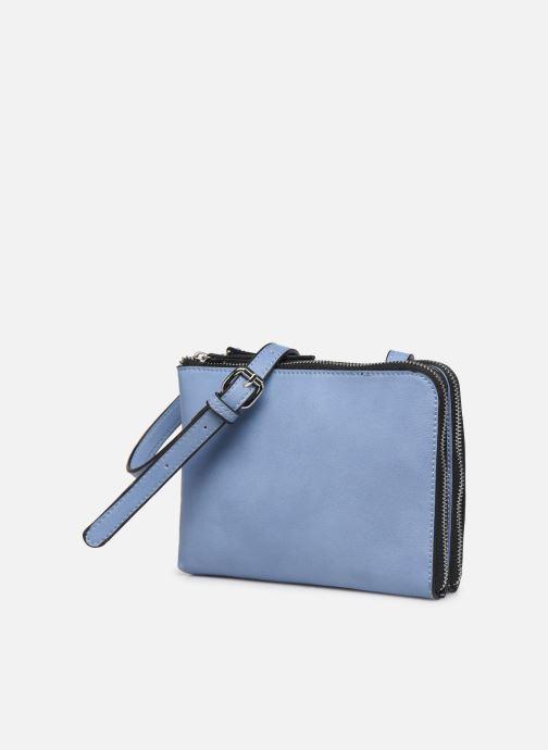 Handtaschen Pieces PERNILLA CROSS BODY blau schuhe getragen
