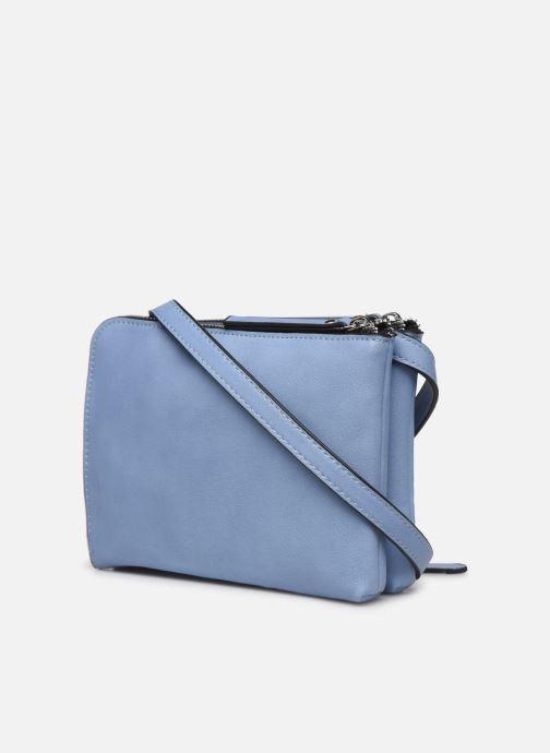 Handtaschen Pieces PERNILLA CROSS BODY blau ansicht von rechts
