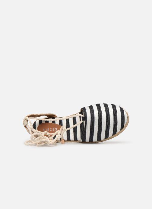 Scarpe di corda Pieces ANITA SANDAL Nero immagine sinistra